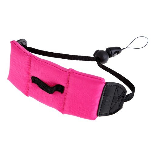 Comple Floating Pe Foam Wrist Arm Strap For Waterproof Digital Camera Dslr Pink