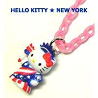 Hello Kitty NEW YORK 自由の女神 ネックレス