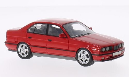 BMW M5 (E34), red, Model Car, Ready-made, Neo 1:43 (Bmw M5 Model compare prices)