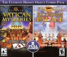 Big Fish 205685 Vatican Mysteries and Buckingham Palace Hidden Object Combo Pack - 1