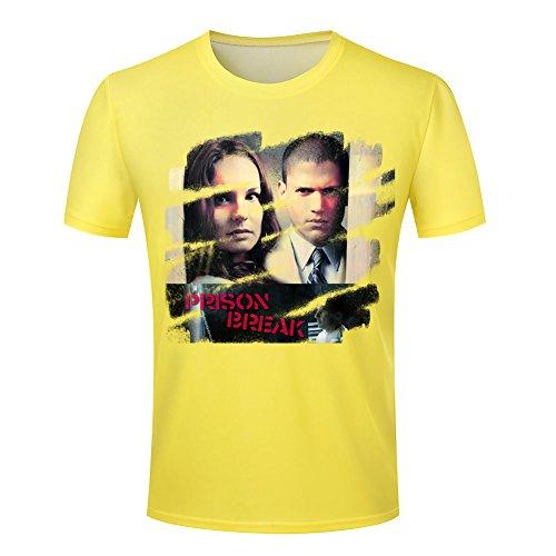 Leading Roles Prison Break Men's T shirt 4XL