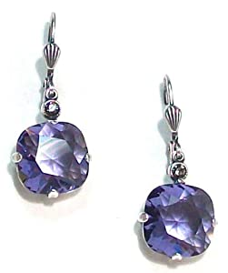 Amazon.com: Catherine Popesco Sterling Silver Plated Tanzanite