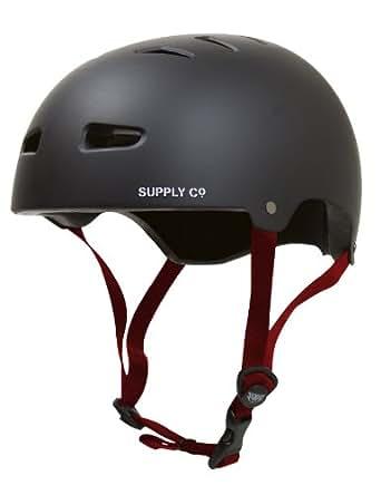 Shaun blanco Supply Co. Protective - Casco de skateboarding, tamaño S / M Tamaño, color negro
