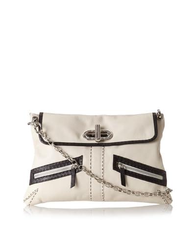 Carla Mancini Women's Haley Shoulder Bag, Off White As You See