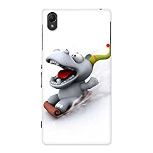 Slide Dog Back Case Cover for Sony Xperia Z1