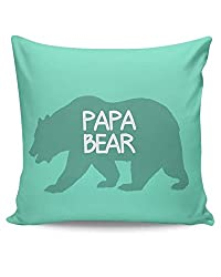 PosterGuy Cushion Covers - Papa Bear | Designed by: Pooja Bindal