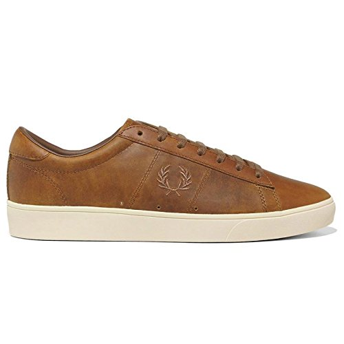 zapatillas-spencer-leather-roble-tan-de-fred-perry-shoes-size-40