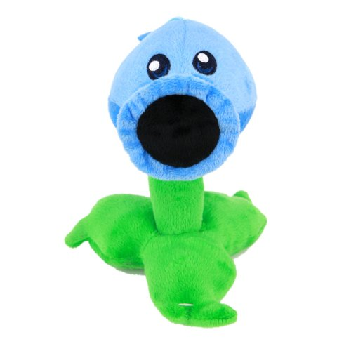 "Toyswill® Plants Vs Zombies Plush Toy - Ice Peashooter 17cm/6.7"" Tall (Small Size) Multicoloured, 17cm - 1"