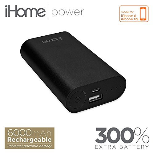 Ihome 0812350091337 Supercharge External Battery Space