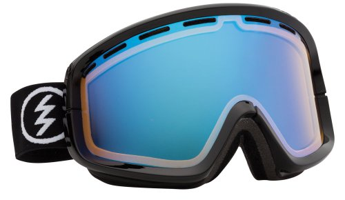 Electric Egb2 Snow Goggle, Gloss Black, Yellow/Blue Chrome