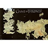 Game of Thrones - Map Poster Print (91.44 x 60.96 cm)