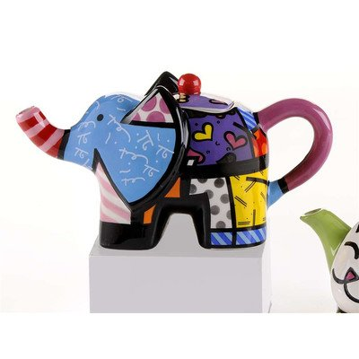 Mini Elephant 0.22-qt. Teapot (Britto Teapot compare prices)