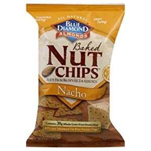 Blue Diamond Nacho Nut Chips 4.25oz(Pack of 12)