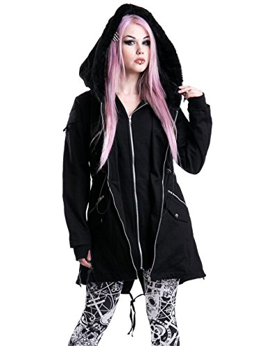 Vixxsin -  Cappotto  - Donna nero X-Large