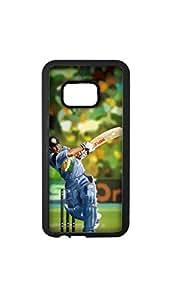 Sachin Tendulkar Painting Designer Mobile Case/Cover For HTC Desire M9 plus 2D black