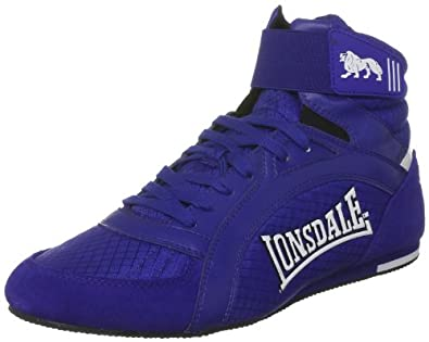 LONSDALE Swift Adult Boxing Boots, Blue, US7