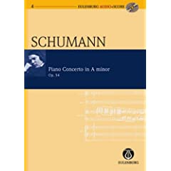 Piano Concerto in A Minor / a-Moll Op. 54 (Eulenburg Audio+Score Series)