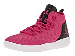 Nike Jordan Kids Jordan Reveal Gg Vivid Pink/Vvd Pink/Blk/White Basketball Shoe 4 Kids US