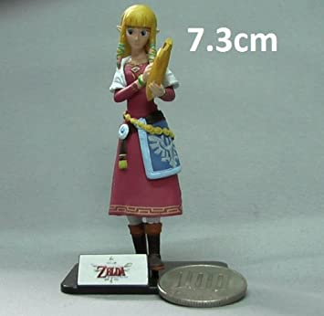 Zelda Skyward Sword Princess Mini Figurine (7.3cm Mini Figure)