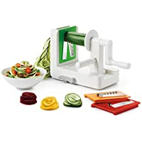 Oxo Good Grips 3-Blade Spiralizer with StrongHold Suction (White)