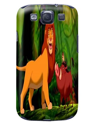 Fashion E-Mall Coolest TPU Logo case Top (The Lion King) Samsung Galaxy s3 Designer Cover