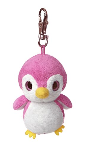 "Kookee Pink Penguin Yoohoo Clip on 3"" by Aurora"