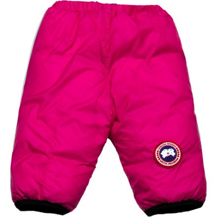 Canada Goose Reversible Down Snow Pant - Infant Girls' Summit Pink/Black, 3-6M  Review