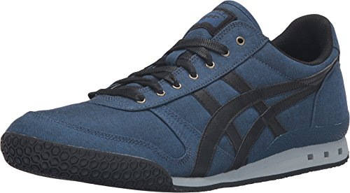 Onitsuka Tiger by Asics Unisex Ultimate 81? Poseidon/Black Sneaker Men's 6, Women's 7.5 Medium