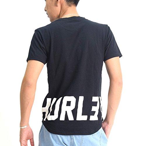 (ハーレー)HURLEY メンズ半袖Tシャツ ONE&ONLY DROPTAIL POCKET MTSSDTPOS6 ムラサキ限定モデル (M, 00A)
