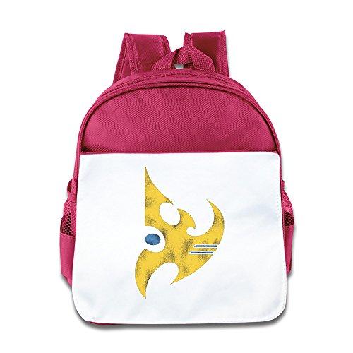 StarCraft II Protoss Vintage Logo Baby Kids School Mini Small Backpack