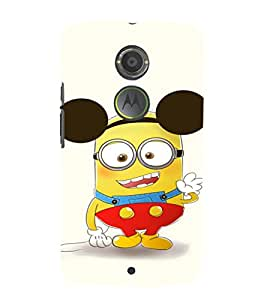EPICCASE Funny Minion Mobile Back Case Cover For Moto X 2nd Gen (Designer Case)
