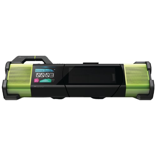 Pioneer Duo Steez Portable Music System (Green/Black)