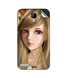 instyler MOBILE STICKER FOR Spice Xlife Dragon