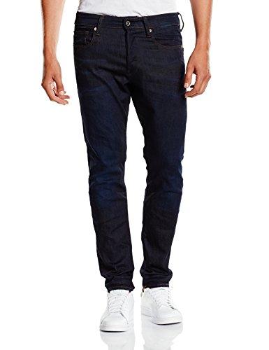 G-STAR - 3301, Jeans da uomo, Blu (Dark Aged 7209), W30/L30