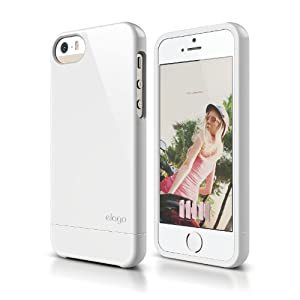 elago S5 Glide Case for iPhone 5/5S - White - eco friendly Retail Packaging