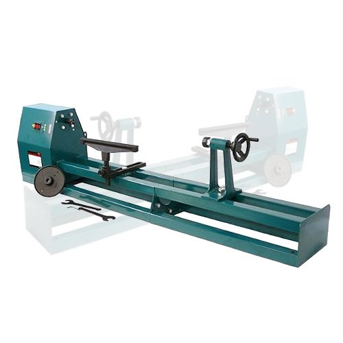 24 - 40 WOOD LATHE professional 6 in 1 motorized jig saw grinder driller metal lathe wood lathe