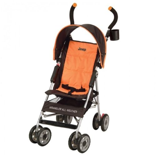 Hot Jeep Wrangler All-Weather Umbrella Stroller Black