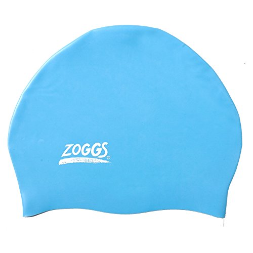 Zoggs 300624-450 Easy-Fit - Silicone Cap (Light Blue) (Zoggs Swim Cap compare prices)