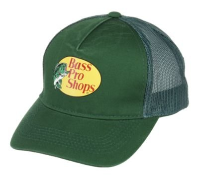 Bass Pro Shops Logo Mesh Cap for Youth Dark Green (Fishing Bass Pro Shop compare prices)