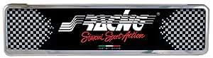 Simoni Racing PTX/2 Portatarga Universale Posteriore, Argento