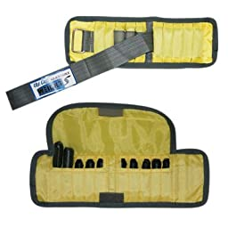 The Adjustable Cuff_ wrist weight - 2 lb. - 10 x 0.2 lb. inserts - Yellow - pair