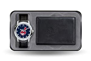 Cleveland Indians Watch and Wallet Gift Set by Sparo