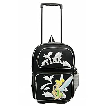 Amazon.com: Disney Tinkerbell Large Rolling Backpack