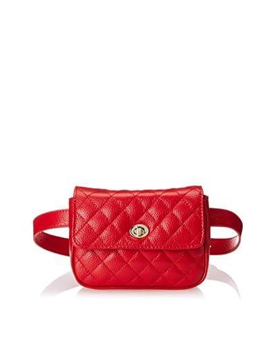 Zenith Women's Convertible Belt Bag/Crossbody, Red