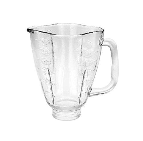 Oster 124461-000-000 Osterizer Clover Glass Blender Jar 5.25 I.D. - 5.38 O.D. (Oster 4125 Blender compare prices)