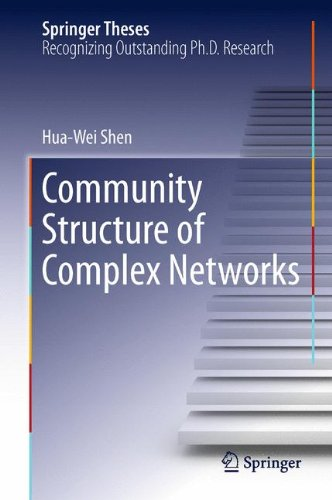 Community Structure of Complex Networks (Springer Theses)