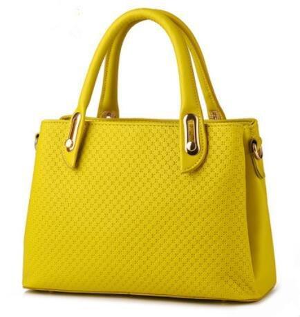 pu-cuoio-stereotipi-croce-corpo-tinta-unita-donna-tracolla-messenger-handbag-lemon-yellow