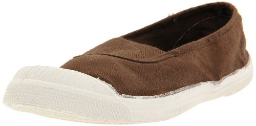 Bensimon Women's Elastique Tennis Slip-On,Taupe S11,40 EU/9-10 M US