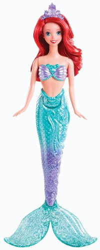 Disney Princess Swimming Mermaid Ariel Doll front-784077