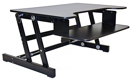 Comparamus Rocelco Adr Height Adjustable Sit Stand Desk